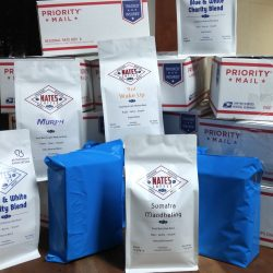Shipping is included in our coffee subscription